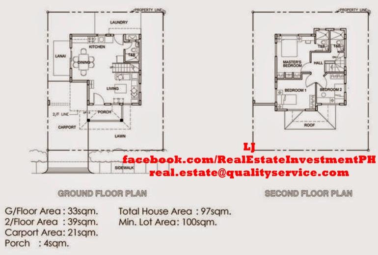 Ayanna 2-Storey Floor Plan