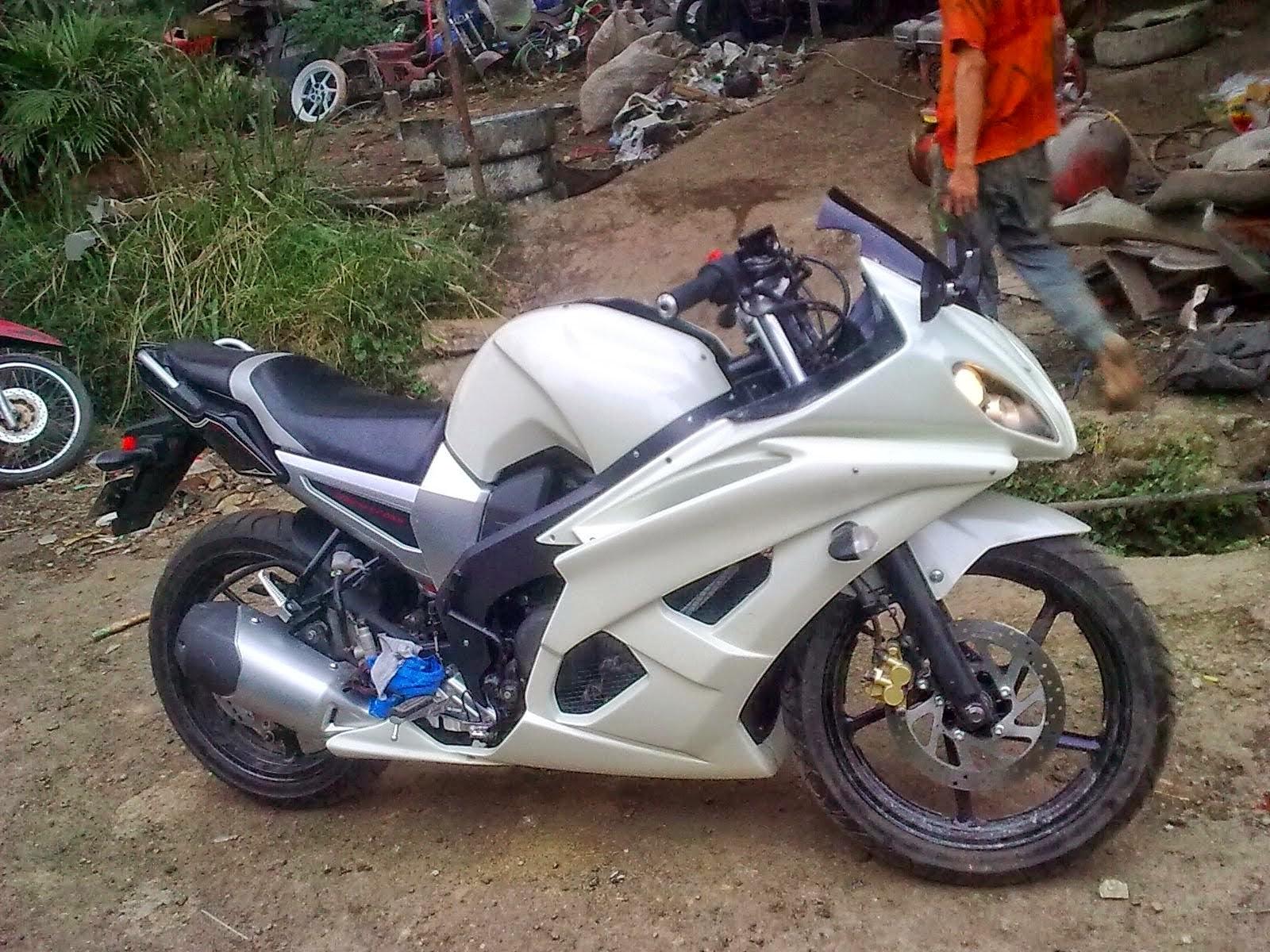Byson Modifikasi Ala Ninja 250
