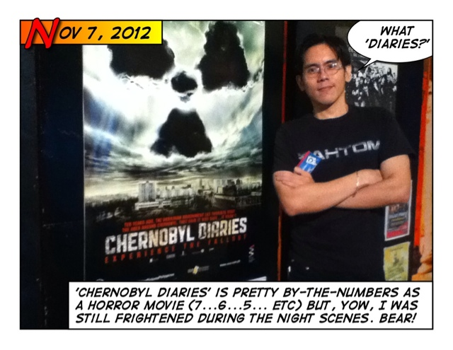 Ben Dares All: Movie Review - Chernobyl Diaries