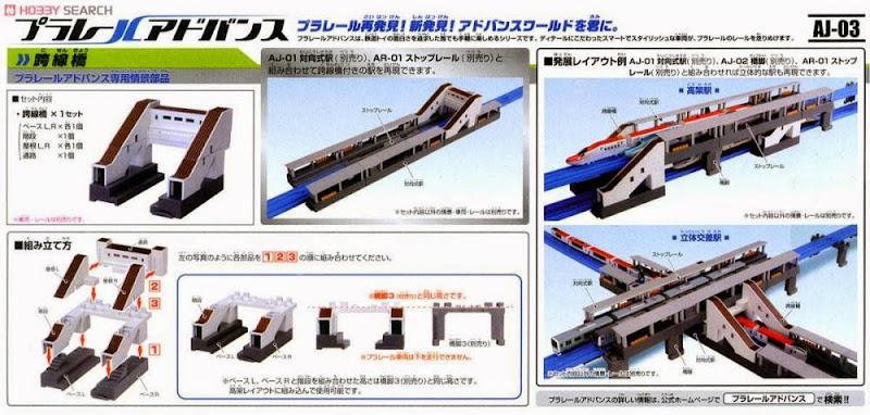 Mô hình Cầu vượt cho tầu hỏa nhỏ AJ-03 Flyover là phụ kiện bổ xung thêm vào hệ thống đường ray tầu hỏa