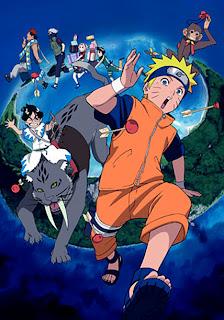 Naruto Filme 3 A Revolta dos Animais da Ilha da Lua Crescente!