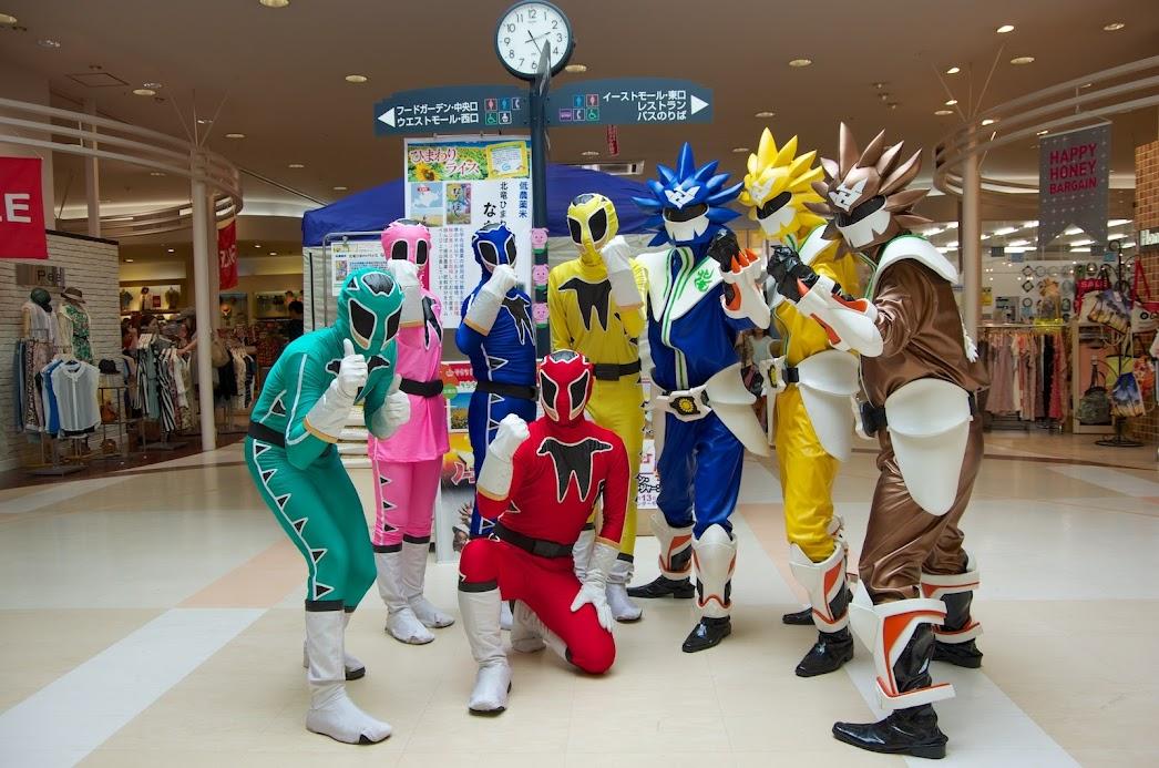 東武レンジャーとノースドラゴン