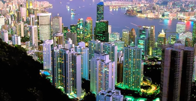 Hong Kong Highest GDP Grossing Countries 2014