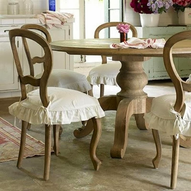Como decorar un comedor shabby chic for Como hacer sillas de madera para comedor