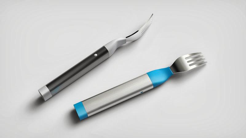Вилка и нож Hapifork, Вилка и нож, Hapifork
