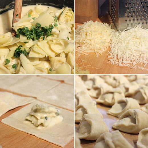 lisa is cooking: Mini Artichoke Turnovers