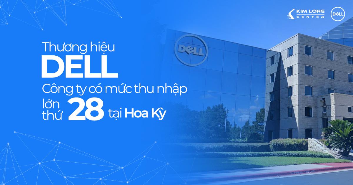 laptop dell - thương hiệu được hàng triệu người tin dùng