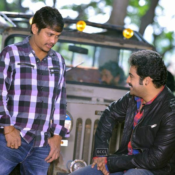 On the sets of Telugu movie Rabhasa. (Pic: Viral Bhayani)
