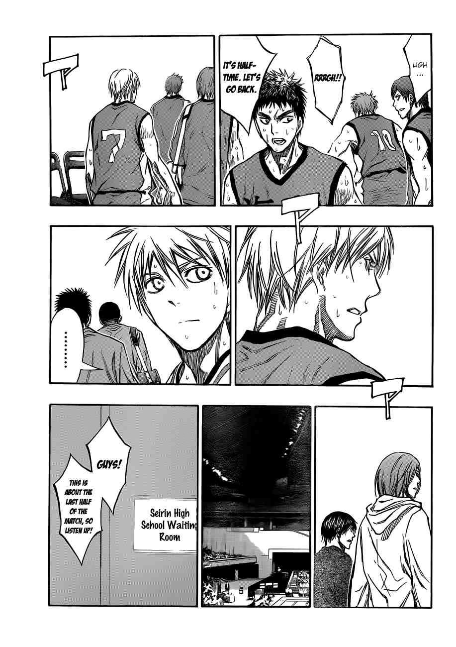Kuroko no Basket Manga Chapter 192 - Image 09