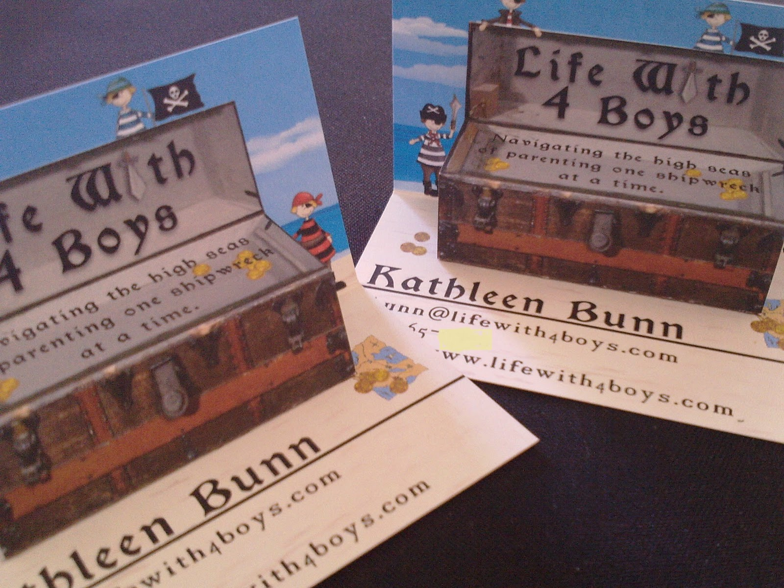 life with 4 boys my new pop up business cards for disneysmmoms
