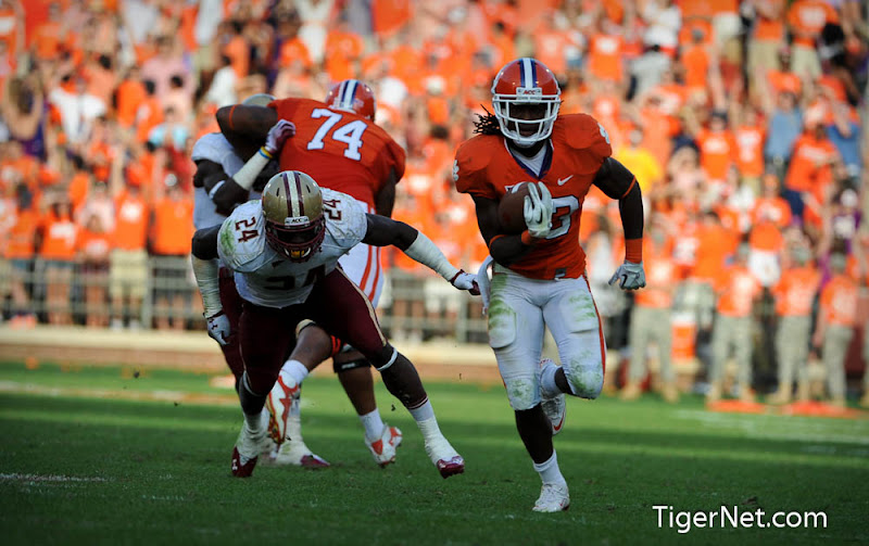 Clemson vs. Boston College - 2nd Half Photos - 2011, Andre Ellington, Boston College, Football