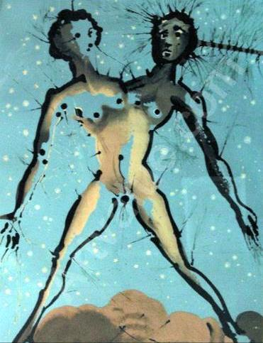 Salvador Dalí 1904-1989 | Surrealist painter | Twelve Signs of the Zodiac, 1967