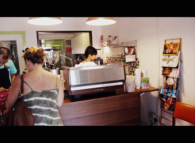 Nylon Coffee Roasters - Counter