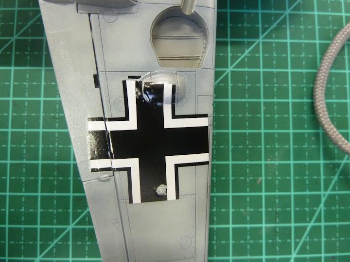 Bf-109 E-3 Tamiya 1/48 - Reforma pintura P1020506