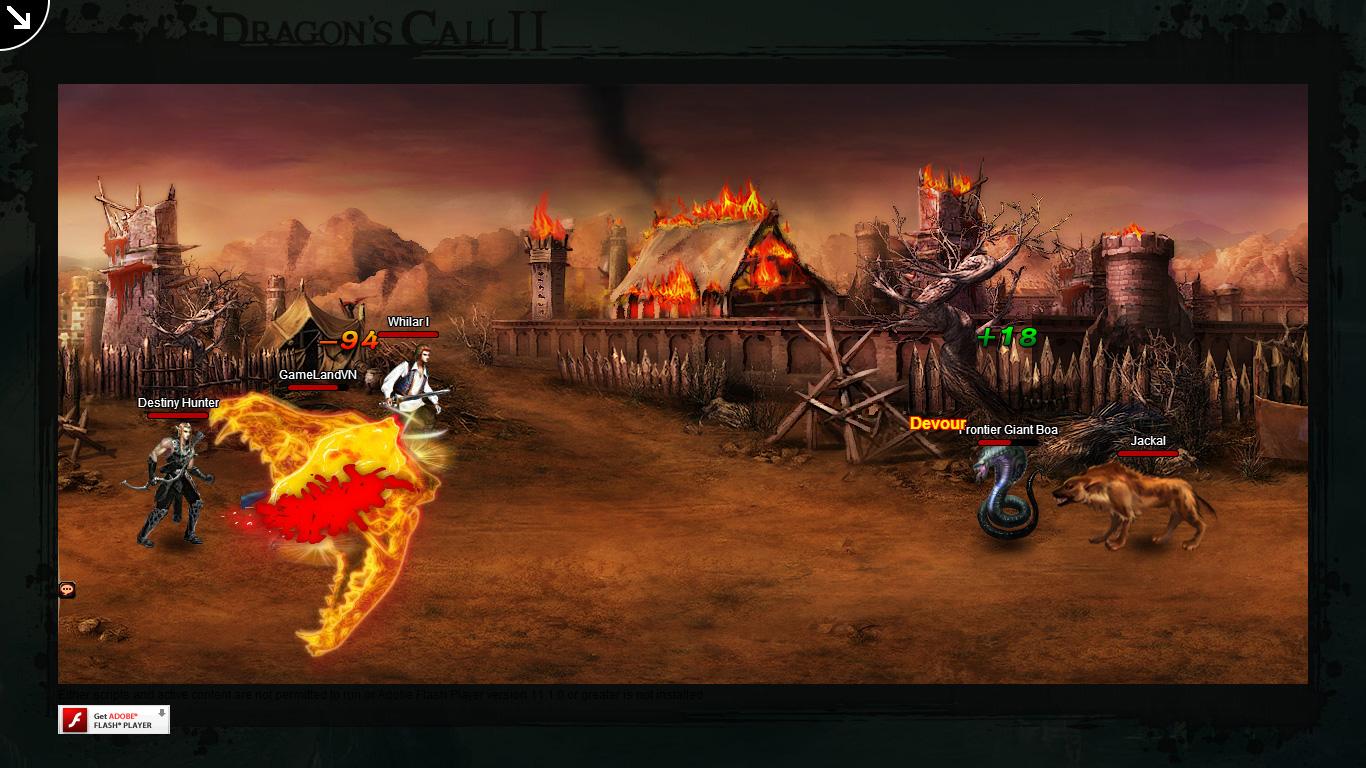 Một số hình ảnh về webgame Dragon's Call 2 - Ảnh 41
