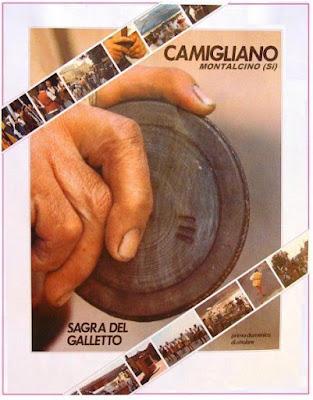 Montalcino, Tuscany: Camigliano's yearly village festival