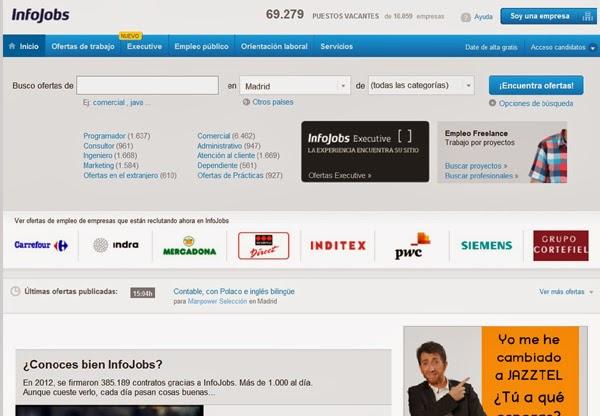 ww infojobs com: