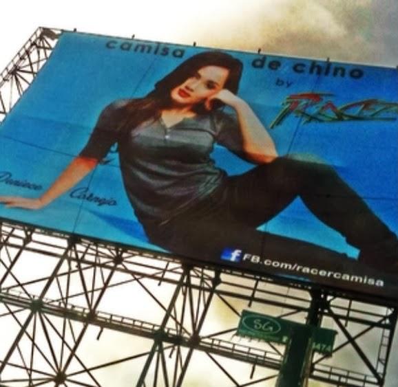LOOK Deniece Cornejo has a Billboard Ads!