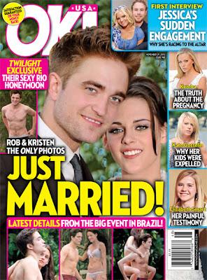 Robert Pattinson and Kristen Stewart Get Married