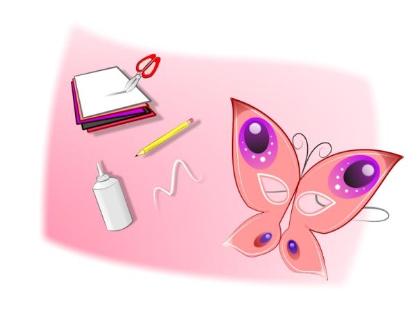 Маска-бабочка