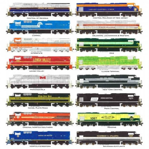 Lionel Toy Trains Value, Norfolk Southern Heritage Tracker