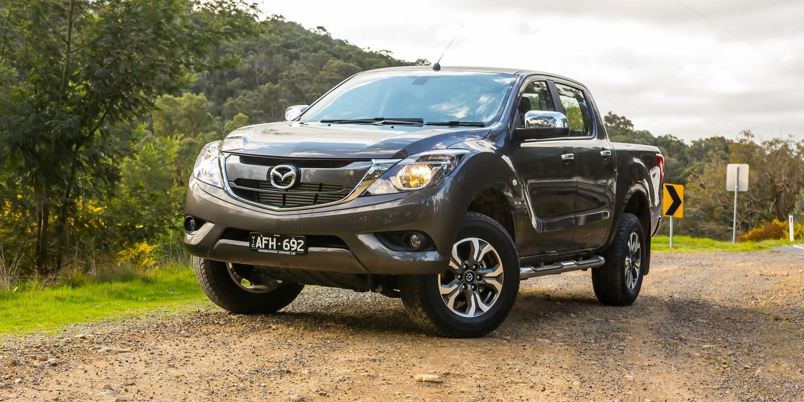 Mazda BT-50 2016 vẫn giữ nguyên nét gợi cảm như đời tiền nhiệm