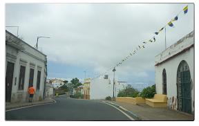 Straße in Moya