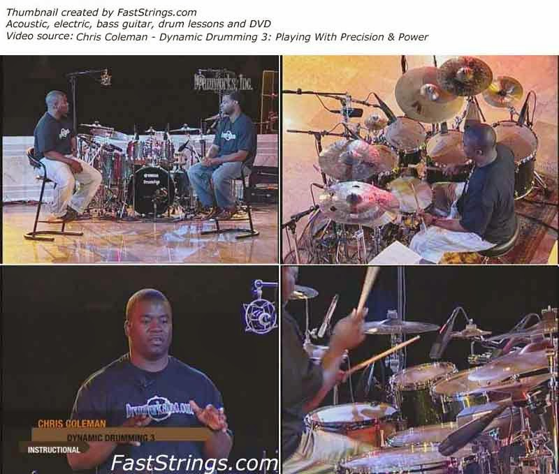 Chris Coleman - Dynamic Drumming 3: Playing With Precision & Power