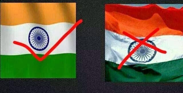 Share right flag on this Independence Day !!! Whatsapp !!!