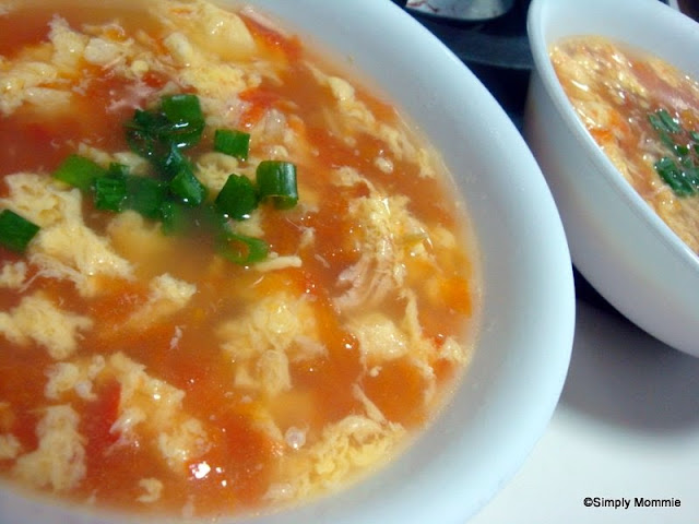 Tomato egg drop soup | Simply Mommie