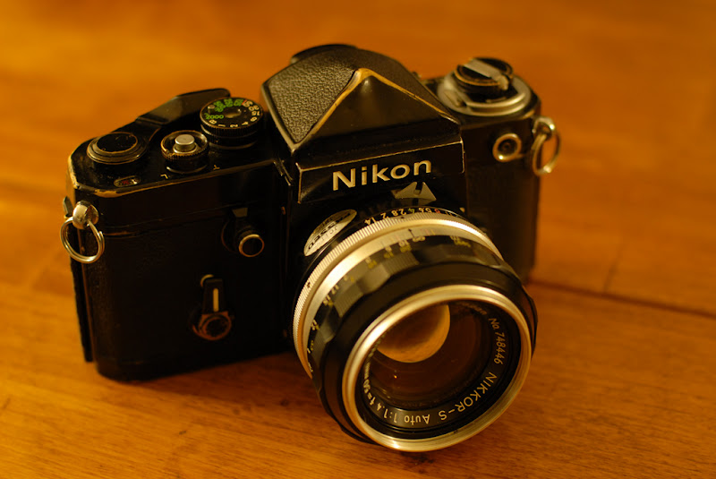 This Old Camera: Black  Brassed  Beautiful