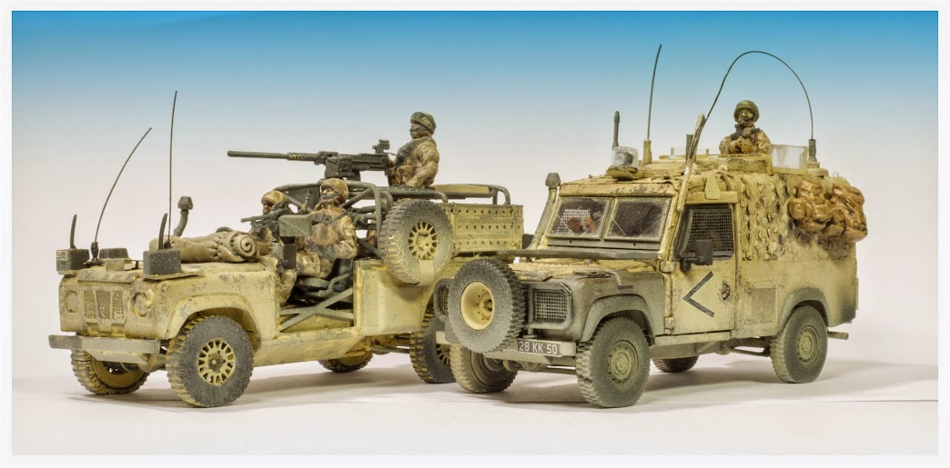 Scale Model Blog 1 48 Land Rover Snatch Amp Wmik