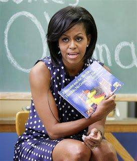Michelle Obama, author, health book