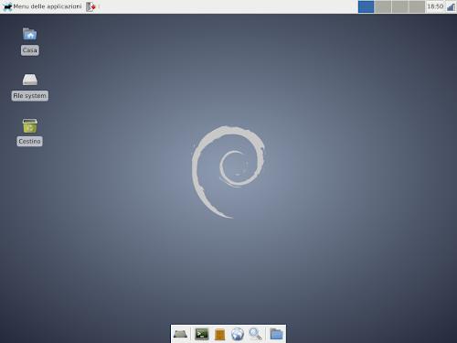 Debian 7.0 Wheezy Xfce