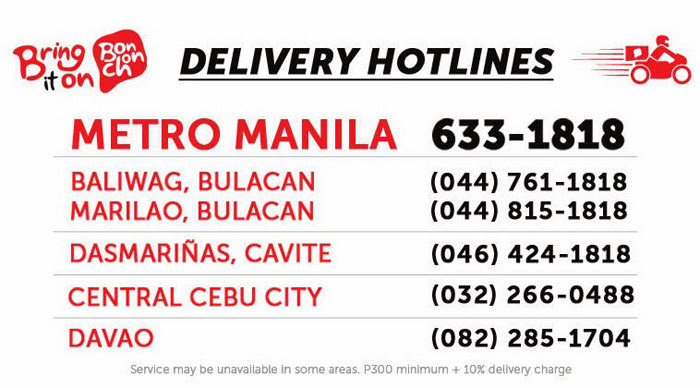 BonChon Chicken Delivery Hotline Number | www.thepeachkitchen.com