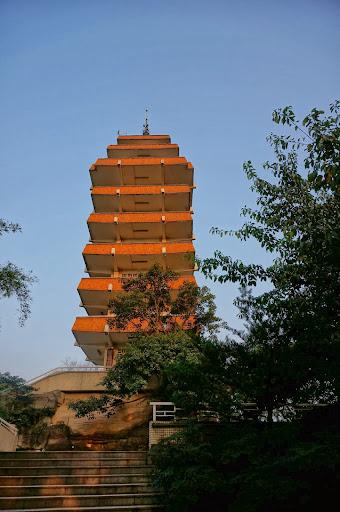 Pagoda en Eling park