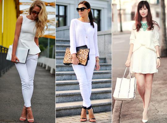 Dicas de Moda - Look Total White