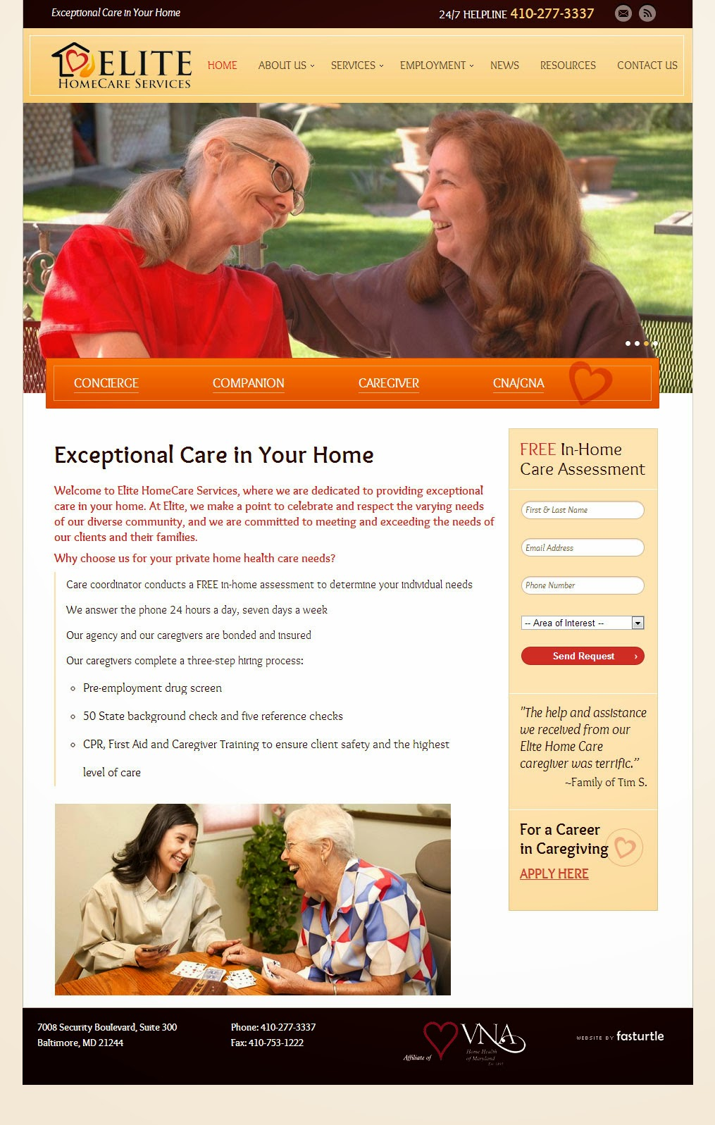 Elite HomeCare Services