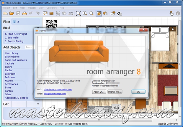 Room Arranger 8