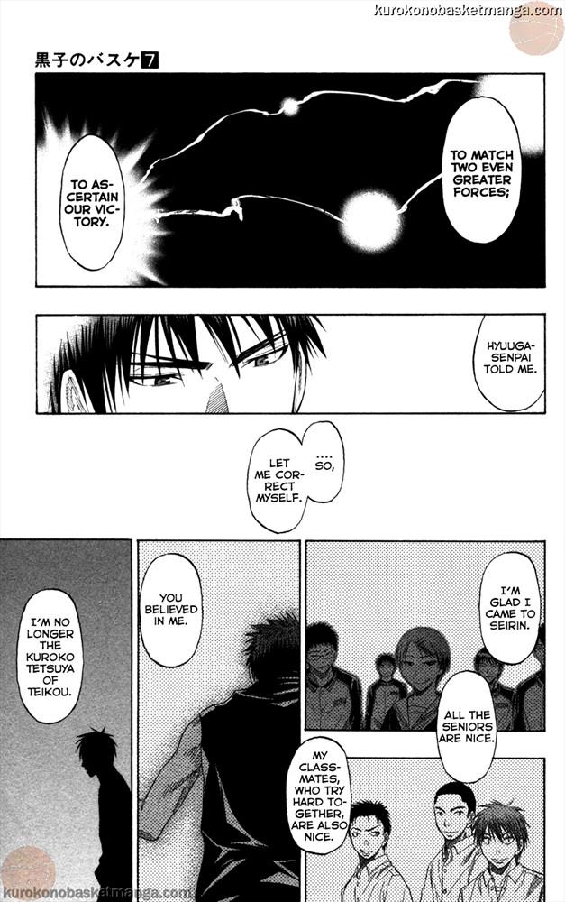 Kuroko no Basket Manga Chapter 57 - Image 13