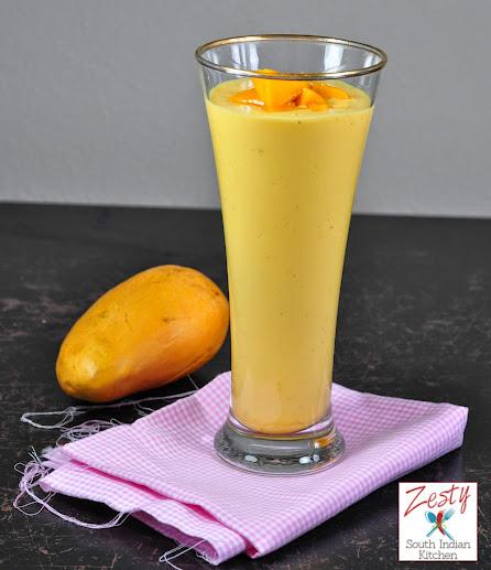 Mango Lassi/Mango Yogurt Smoothie