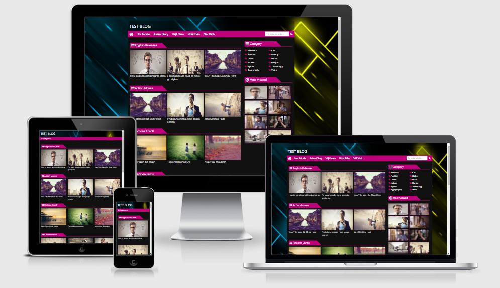 Giao diện chia sẻ Video cho Blogspot