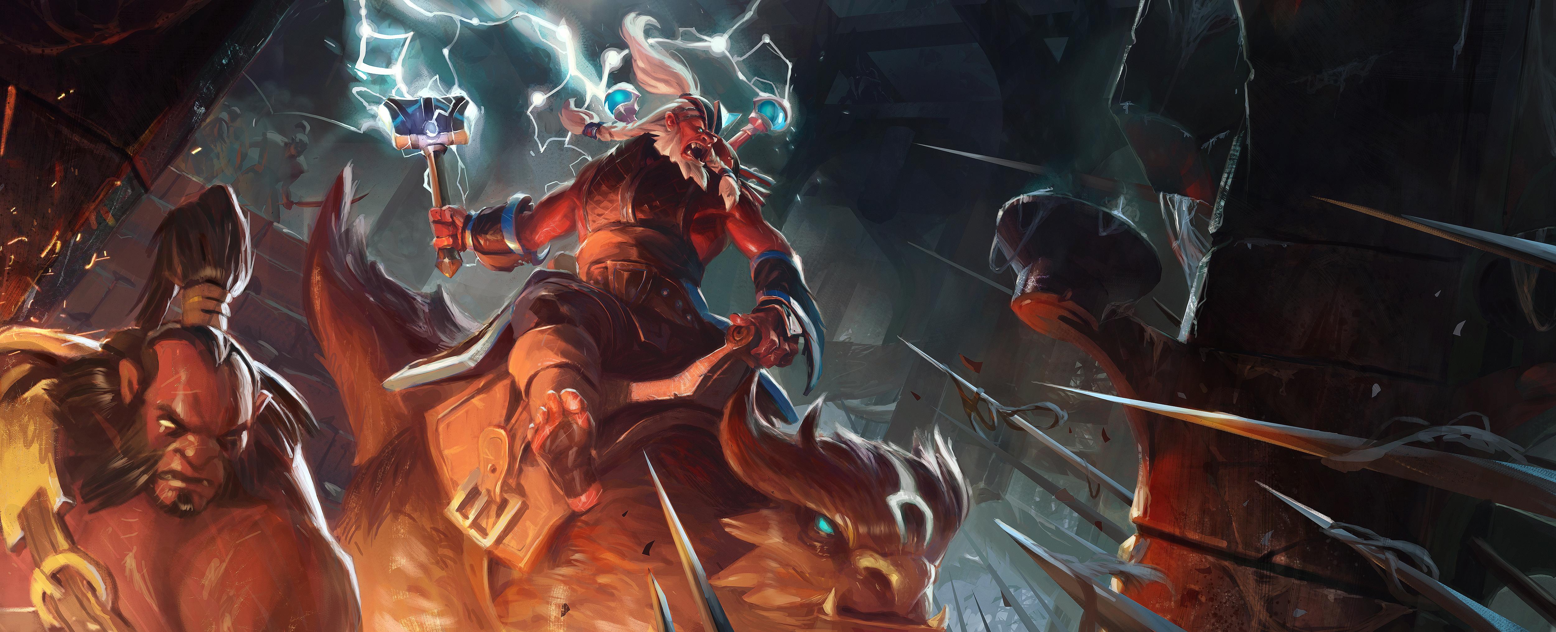 Loạt ảnh nguyên họa của các hero trong DotA 2 - Ảnh 27