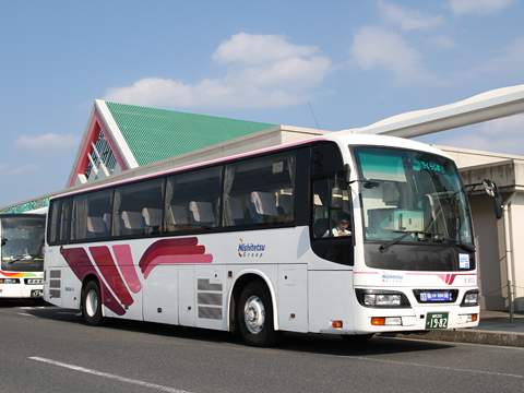 西鉄高速バス「桜島号」 6021 鹿児島本港にて その1