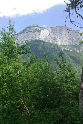 La tête du Parmelan 1832 m : ce soir on dort là haut !