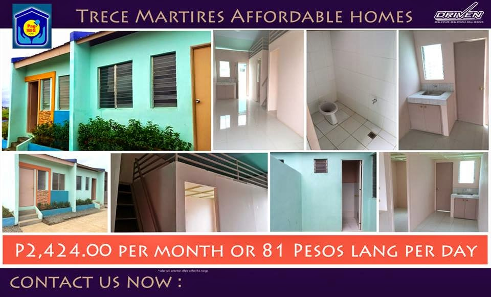 Trece Martires Most Affordable Rent To Own House And Lot Thru Pagibig Ready  For Occupancy