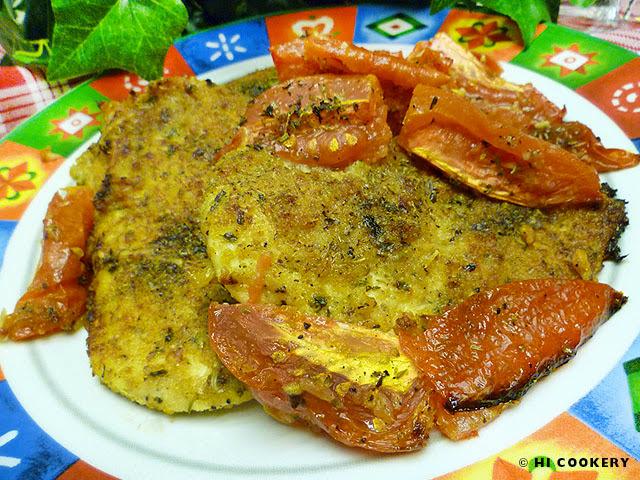 Chicken Oreganata