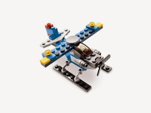 5864 レゴ クリエイター ミニヘリコプター