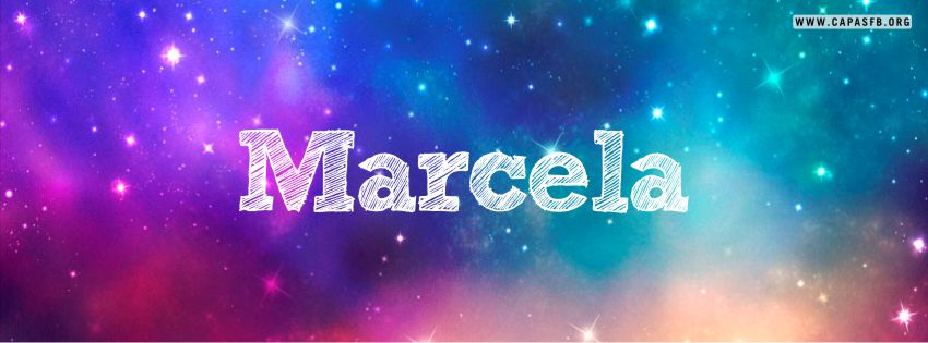 Capas para Facebook Marcela