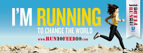 Run 10 Feed 10 - I'm running to change the world